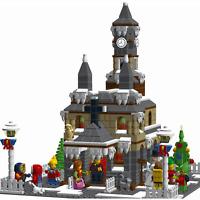 Lego MOC Custom HOLIDAY CHRISTMAS CHURCH - City, Expert - INSTRUCTIONS ONLY !