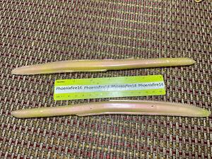 """10"""" Soft Plastic Eel 1oz 2pcs Fishing Lures"""