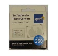 Kenro 250 Esquinas Foto Auto Adhesivo ácido libre tradicional Pegatina álbum Crafts