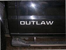Nissan Navara D22 Outlaw Sticker Autocollants Graphique X 2 Latéral Rechange Any
