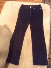 Patagonia Organic Cotton Black Corduroy Pants Measure 28