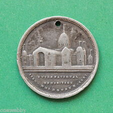 1880 Australia Silver Medallion Melbourne International Exhibition SNo41864