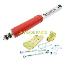 DISCOVERY 1 NEW TERRAFIRMA 4 STAGE ADJUSTABLE STEERING DAMPER & RELOCATION KIT