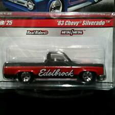 HOT WHEELS 83 1983 CHEVY SILVERADO PICKUP TRUCK EDELBROCK DELIVERY CHEVROLET RRs