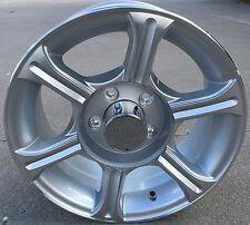 "14"" Silver Aluminum Sendel Trailer Wheel/Rim 5 on 4.5 CustomTrailerWheels.com"
