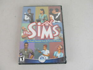 The Sims Original PC Game 2000 2002 EA People Simulator -Sealed!