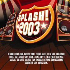 SPLASH! 2003 CD + DVD (Beginner, Gentleman, Curse, Alles ist die Sekte, Bushido)