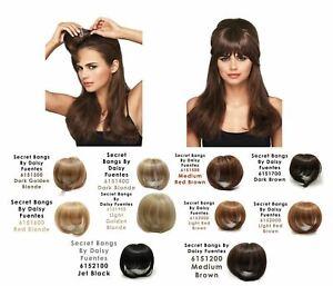 Genuine Salon Style Secret Bangs By Daisy Fuentes 11 Different Color Varieties