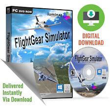 FlightGear - Realistic Flight Simulator for Microsoft Windows & Mac (Download)