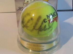 John McEnroe Autograph Tennis Ball ACE Authentic Hidden Signatures Series 3