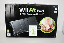 Nueva Nintendo Wii Fit Plus RVL-021 Negro Balance Board Video Juego Fitness Set