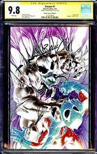 VENOM #1 CGC 9.8 SS MARK BAGLEY NEGATIVE VIRGIN VARIANT COVER C 2018 Marvel NM