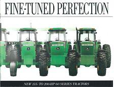 Farm Tractor Brochure - John Deere - 4560 4760 4960 60 series - c1992 (F6964)