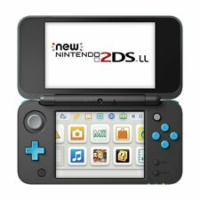New Nintendo 2DS LL Console System Japanese Version Black x Turquoise
