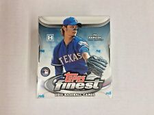 2012 TOPPS FINEST BASEBALL FACTORY SEALED HOBBY BOX - BRYCE HARPER ROOKIE CARD