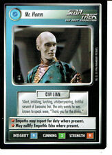 STAR TREK CCG Q CONTINUUM RARE CARD MR. HOMM