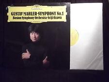 GUSTAV MAHLER SYMPHONIE No.1  BOSTON SYMPHONY/SEIJI OZAWA - DEUTSCHE GRAMMOPHON