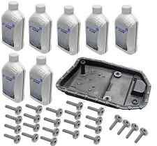 BMW oem Auto Transmission Filter Kit + Bolts + Fluid ZF GA6HP19Z e60 e61 e90