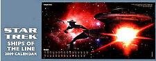 Star Trek Ships of the Line 2009 Wall Calendar