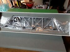 Overland Models HO Scale Pin Connected brass Bridge 167 feet long