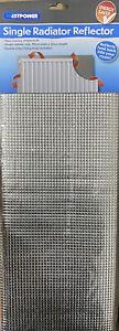 Single Radiator Reflector.Reflecting Foil Sheets, Reduces Heat Loss.