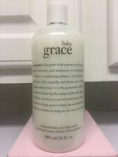 PHILOSOPHY  BABY GRACE Perfumed Olive Oil Body Scrub 16oz - Limited Edition