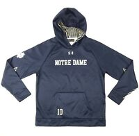 Under Armour Notre Dame Irish God & Country Fleece Armourfuse Hoody Men's Large