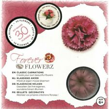 Craft Buddy Forever Flowerz Classic Carnations - Mauve Ff03mv - Makes 30 Flowers