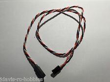 """30"""" Heavy 22awg. Twisted Wire Servo Extension JR / Futaba (futaba color)"""