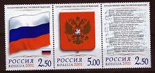 Russland 913-15 **, Symbole der Russischen Förderation, Flaggen,Wappen