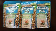 Hawaii Mauna Loa Maui Onion & Garlic Macadamia Nut-3 Bags (10 oz per bag)