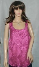 Ann Harvey Cerise Pink Top Summer Wedding Party Occasion size 18 RRP £55
