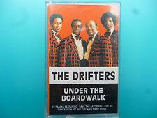 """THE DRIFTERS  """" UNDER THE BOARDWALK """"  CASSETTE"""