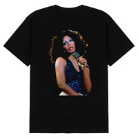 Inspired by Donna Summer T-shirt Tee Men Size S M L 234XL BLACK G2764