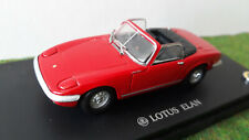 LOTUS ELAN S3 cabriolet open rouge 1/43 KYOSHO 03041R voiture miniature collecti