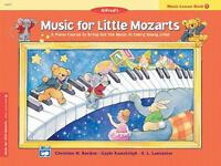 Music for Little Mozarts Music Lesson Book : A Piano Course to Bring Out the...