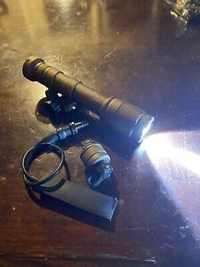 Tan Scout Light High-Output LED 600 Lumen W/ Hot Button Like SureFire M600
