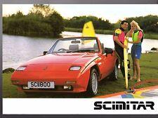 Reliant Scimitar SS1 1988-89 UK Opuscolo Vendite del Mercato Opuscolo 1800 ti 1600 1400