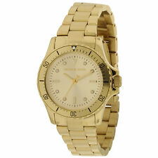 Michael Kors Women's MK6120 'Tatum' Crystal Gold-Tone Stainless Steel Watch