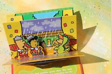 Sonic Molly Brightens Up a Rainy Day, 3-D Pop Up Book  FREE SHIP!