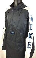 NIKE VTG 90's Men's Size XXL 1/2 Zip Pullover Hooded Windbreaker Jacket Blue