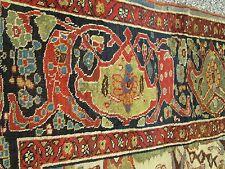 Antique Persian Serapi Oriental Rug_11 x 18_Shrewsbury Museum Collection