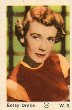 DUTCH MOVIE STAR GUM CARDS - No. 040 BETSY DRAKE