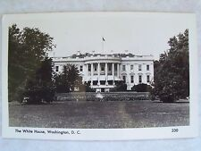 A. Mainzer RPPC Washington, D.C. The White House.Unused Old Photo B & W Postcard