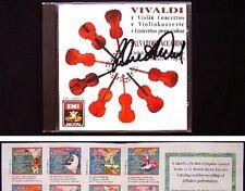 Salvatore ACCARDO Signiert VIVALDI Violin Concertos CD Senza cantin Il riposo