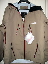AIGLE ACTIMUM MEN Walnut Taupe JACKET Hoodies Size M WEATHER WATER resistant NWT