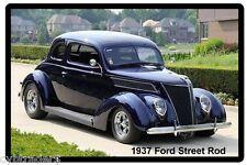 1937 Ford Street Rod Refrigerator Magnet