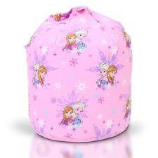 Disney Frozen Magic Anna Elsa Beanbag Bean Bag With Filling 50cm X 65cm