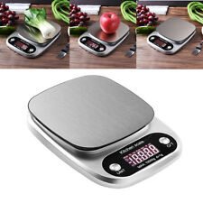 10kg/1g Digital LCD Electronic Kitchen Scales Cooking Food Weighing Scale New