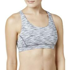 Ideology Sports Bra Space Dye Seamless Padded Racer Back Active Womens Size M